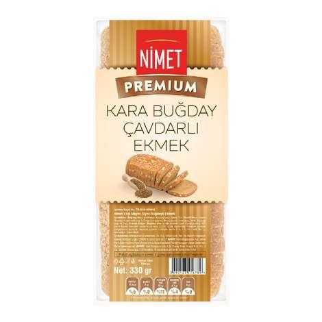Nimet Premium Kara Buğday Çavdarlı Ekmek 330 gr