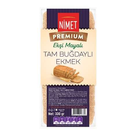 Nimet Premium Ekşi Mayalı Tam Buğdaylı Ekmek 330 gr