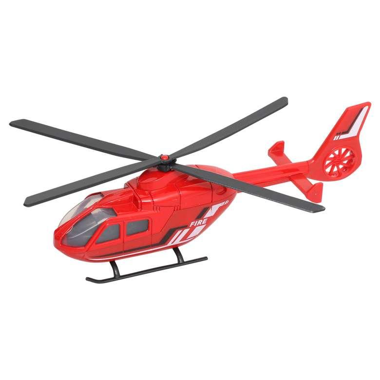 Citycode Diecast İtfaiye Helikopteri 1:64 Ie
