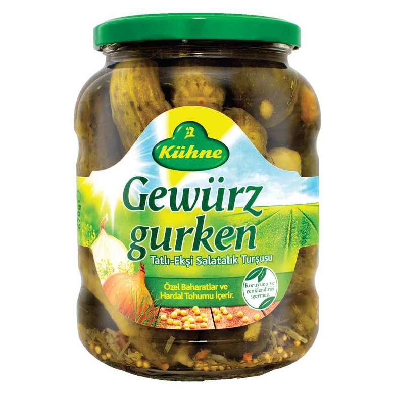 Kühne Turşu Salatalık Alman Tipi 670 G