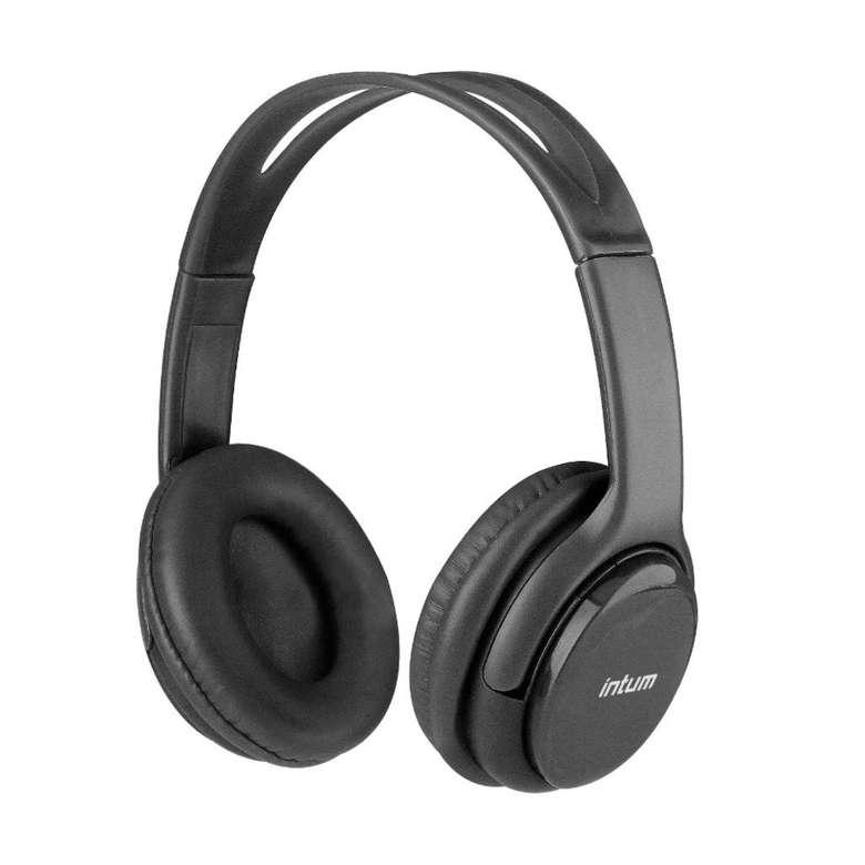 Intum Bluetooth Kulaküstü Kulaklık - Siyah