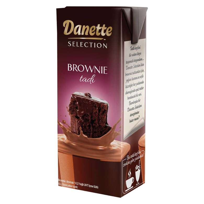 Danette Selection Brownie Tadında Süt 180 ml