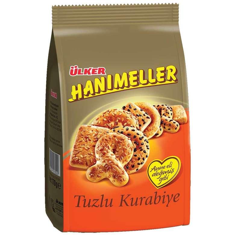 Ülker Hanımeller Kurabiye Tuzlu Çörek Otlu 185 G