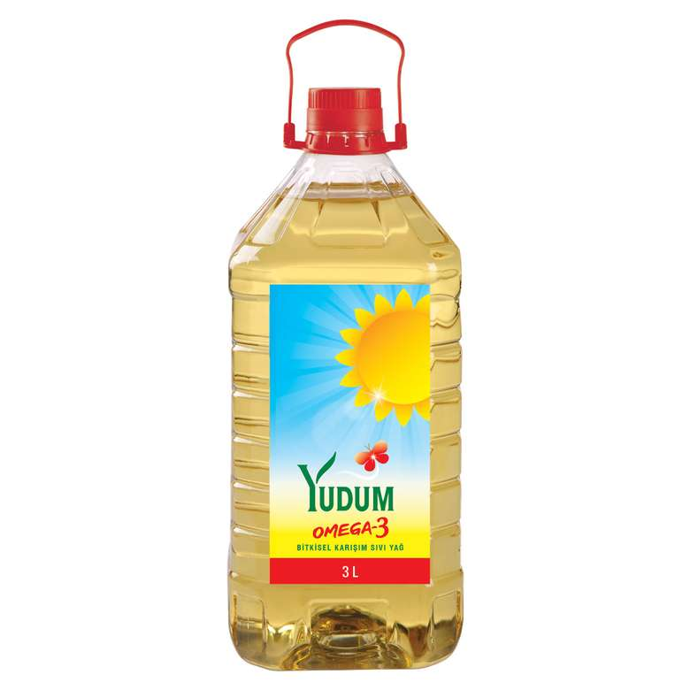 Yudum Bitkisel Sıvı Yağ Omega 3 3000 Ml
