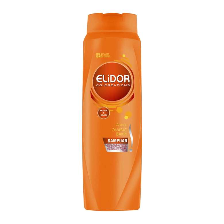 Elidor  Güçlü Ve Parlak Saçlar Şampuan 500 Ml