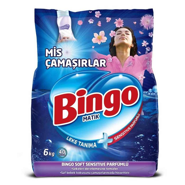 Bingo Toz Deterjan Beyaz 6 Kg