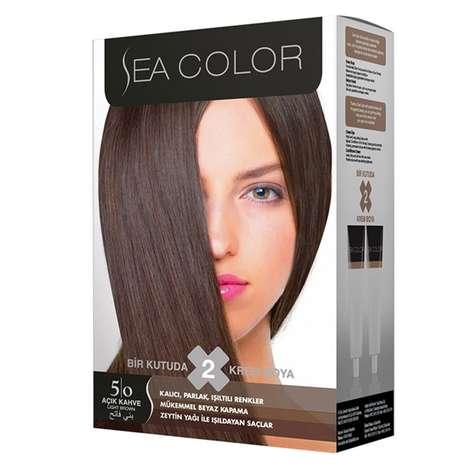 Sea Color Saç Boyası 100 ml Açık Kahve 5-0