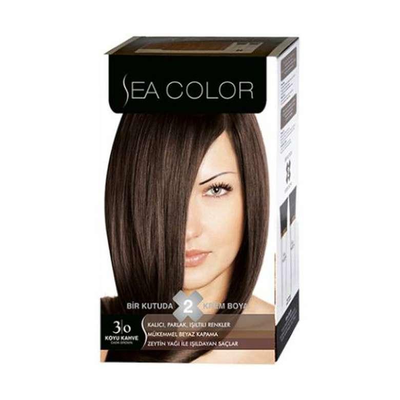 Sea Color Saç Boyası  Koyu Kahve 3-0 100 ml