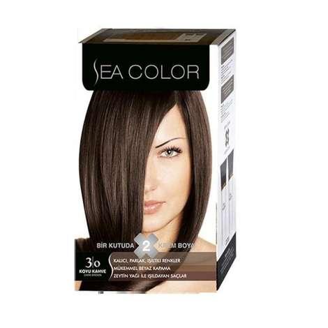 Sea Color  Mavi Siyah 3-0 Saç Boyası 100 ml