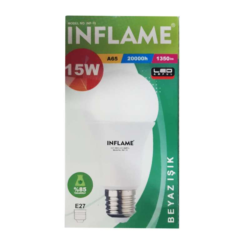 Inflame Led Ampul 15w