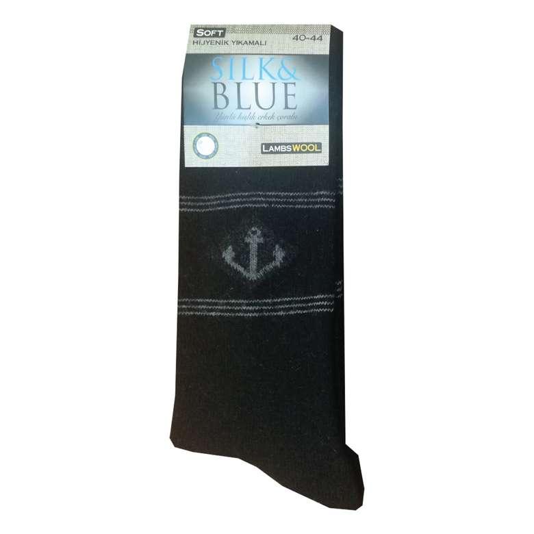 Silk&Blue Erkek Yün Çorap