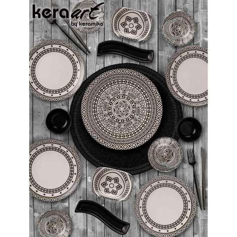 Keramika Kahvaltı Seti 19 Parça - Otantik