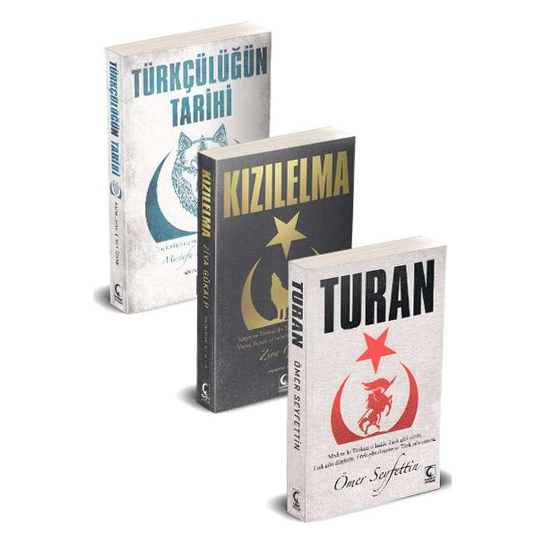 Kızılelma -Turan - Türkçülüğün Tarihi / 3 Kitap