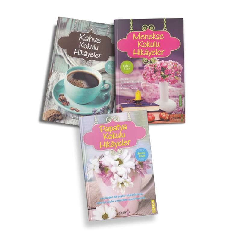 Menekşe-Papatya-Kahve Kokulu Hikayeler 3 Kitap