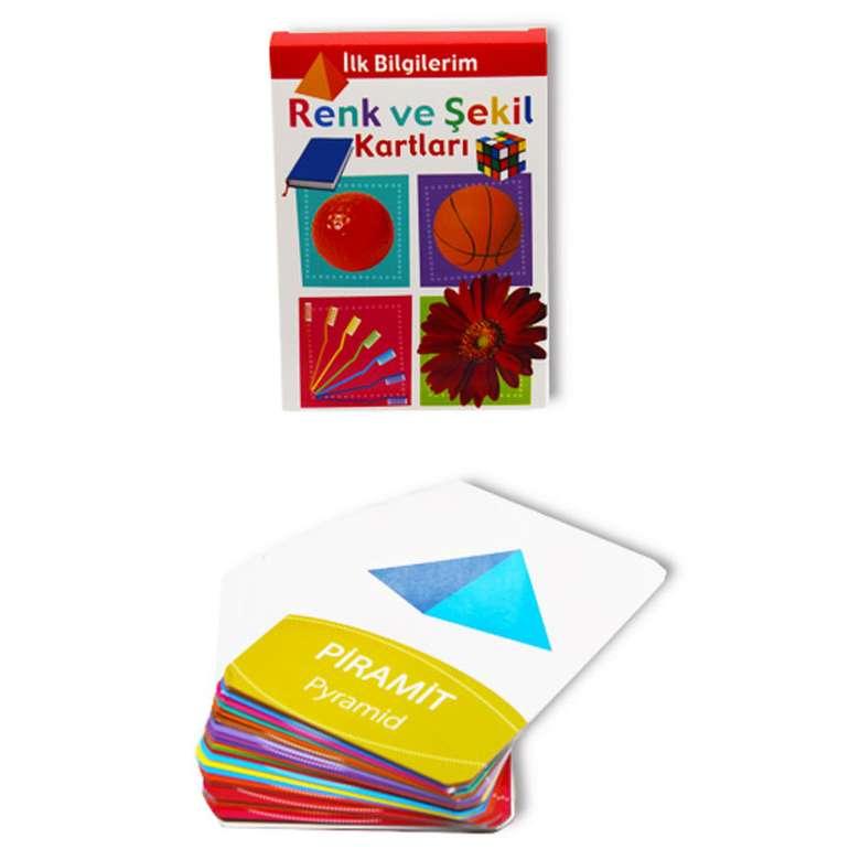 Renk Ve Şekil Bak Öğren Kartları