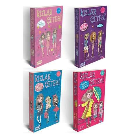 Kızlar Çetesi Seti - 4 Kitap
