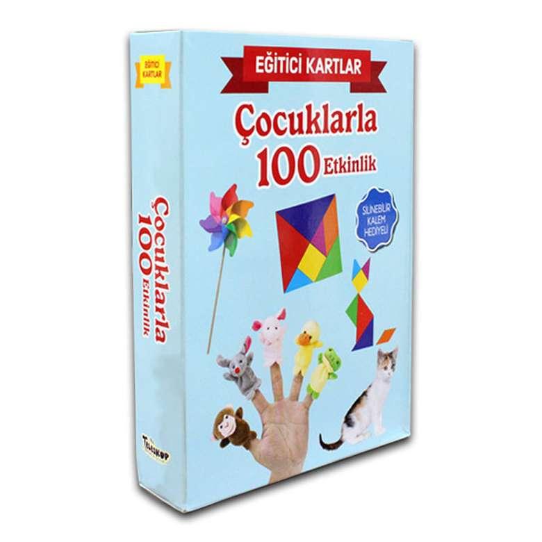 Eğitici Kartlar - Çocuklarla 100 Etkinlik