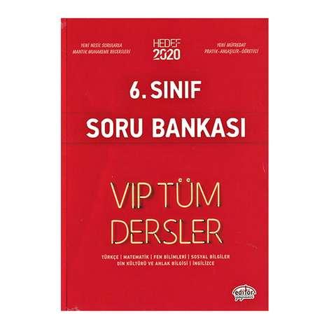 6. Sınıf Vip Tüm Dersler Etkinliklerle Soru Bankası