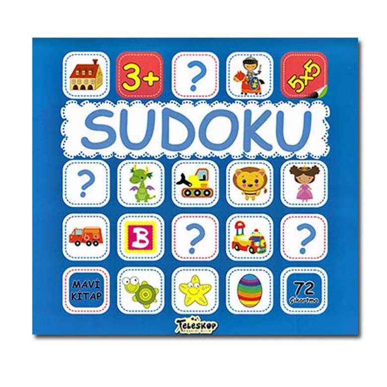 Çocuklar İçin Sudoku - Mavi Kitap