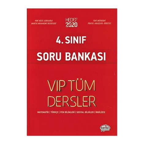 4. Sınıf Vip Tüm Dersler Etkinliklerle Soru Bankası