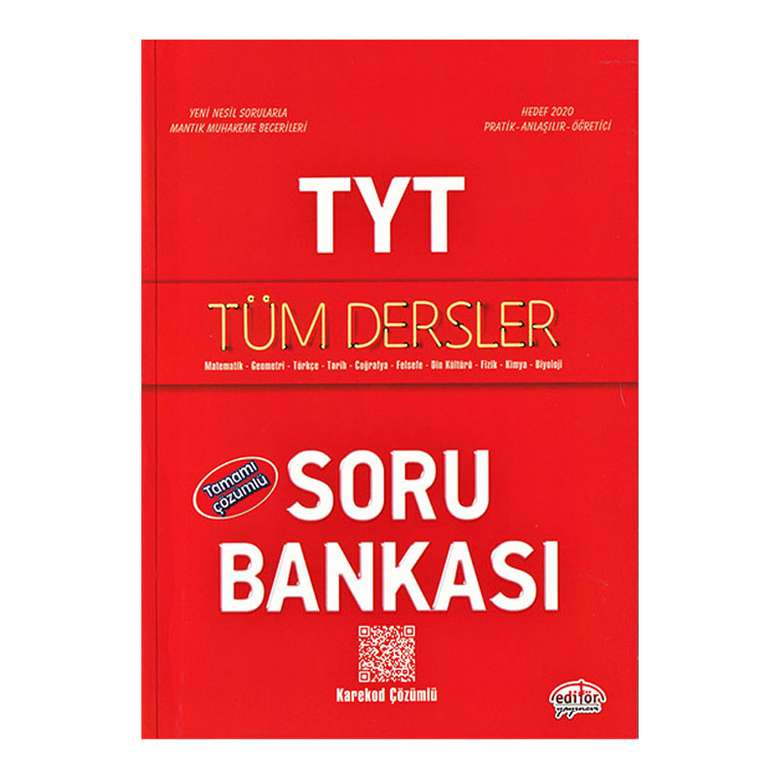 TYT Tüm Dersler Etkinliklerle Tamamı Çözümlü -Soru Bankası