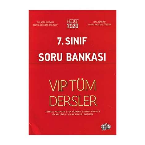 7. Sınıf Vip Tüm Dersler Etkinliklerle Soru Bankası