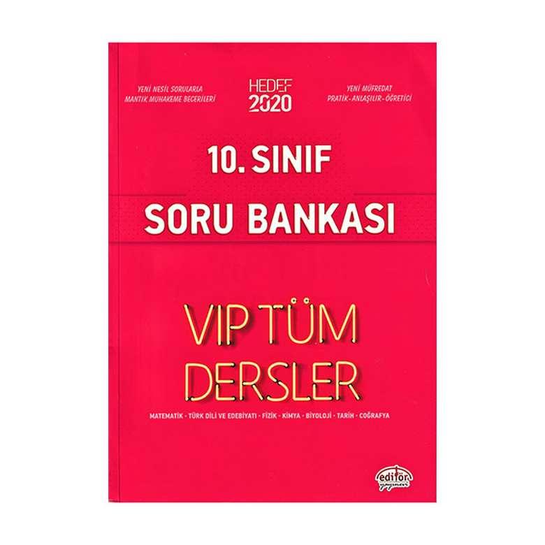 10. Sınıf Vip Tüm Dersler Etkinliklerle Soru Bankası