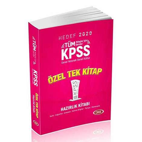 Hedef 2020 KPSS - Genel Yetenek Genel Kültür - Tüm Adaylar için Özel Tek Kitap