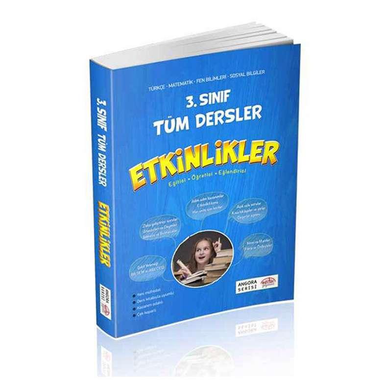 3. Sınıf Tüm Dersler Etkinlikler Kitabı