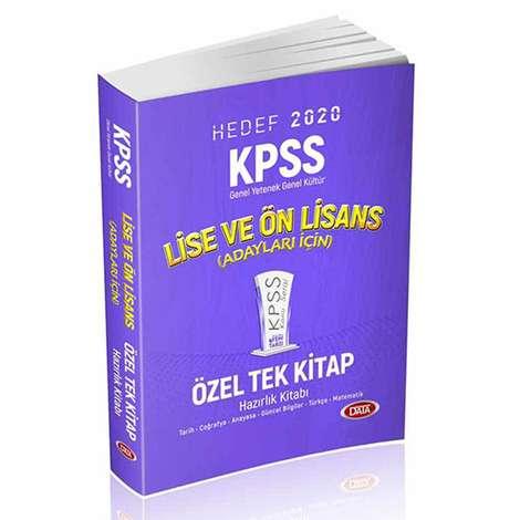 Hedef 2020 - KPSS Genel Yetenek ve Genel Kültür - Hazırlık Kitabı