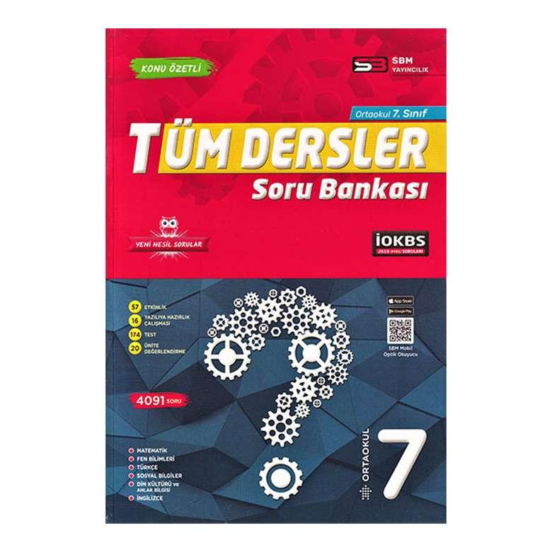 7. Sınıf Tüm Dersler Soru Bankası - Sbm Yayıncılık