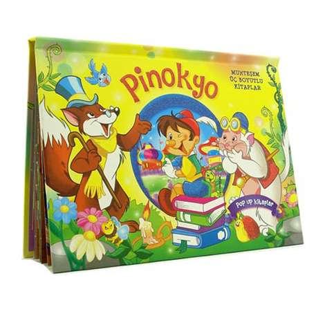 Pinokyo Üç Boyutlu Kitap (büyük Boy)