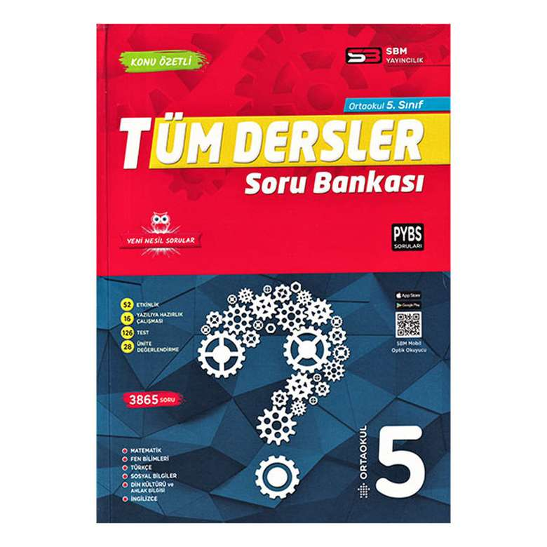 5. Sınıf Tüm Dersler Soru Bankası - Sbm Yayıncılık