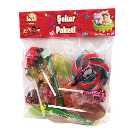 Candy Box Sert Şeker Karışık Poşet 20'li