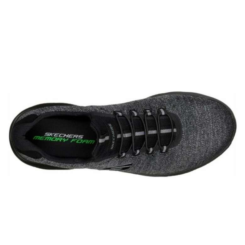Skechers 52813-Bbk Erkek Ayakkabı