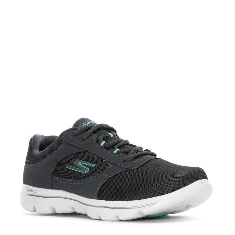 Skechers 15734w-cclb Gri Spor Ayakkabı Kadın - 38