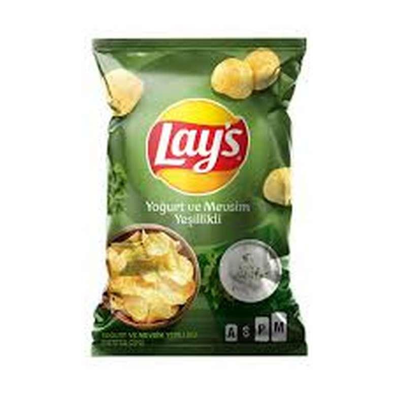 Lays Cips Patates Yoğurt Mevs. Yeş. 107 G