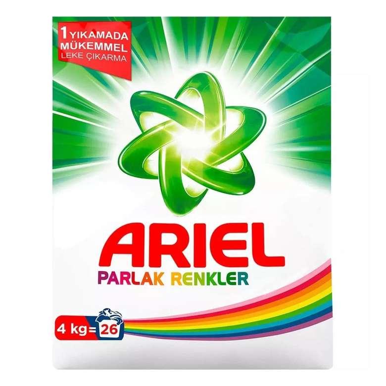 Ariel Renkli Toz Deterjan 4 Kg