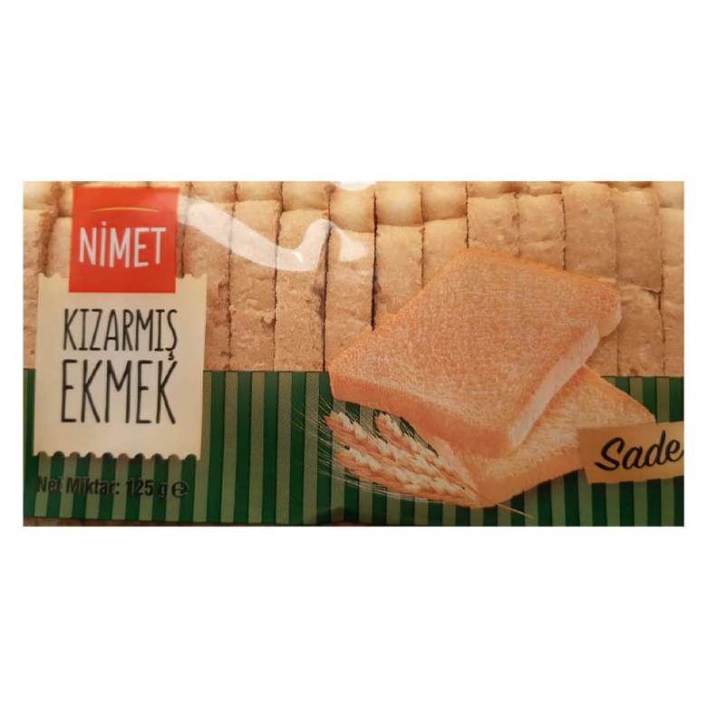 Nimet Hazır Kızarmış Ekmek 125g