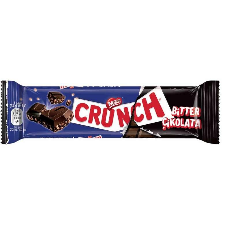 Nestle Crunch Çik. Bitter Pirinç Pat. 33 G