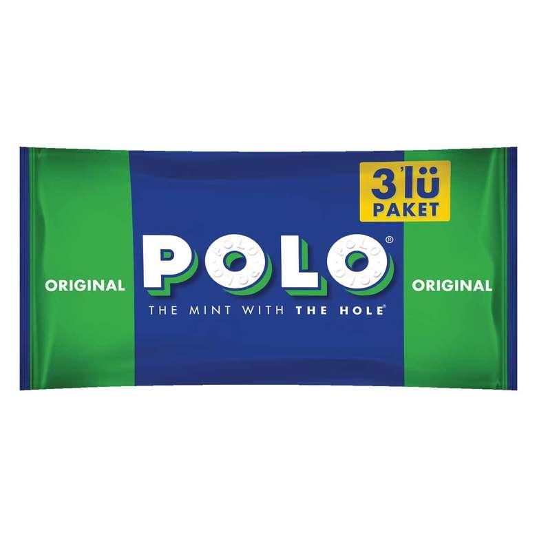 Polo Sert Şeker Nane Aromalı 3*34 G
