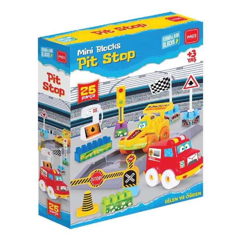 Oyuncak Arabalı Trafik Seti