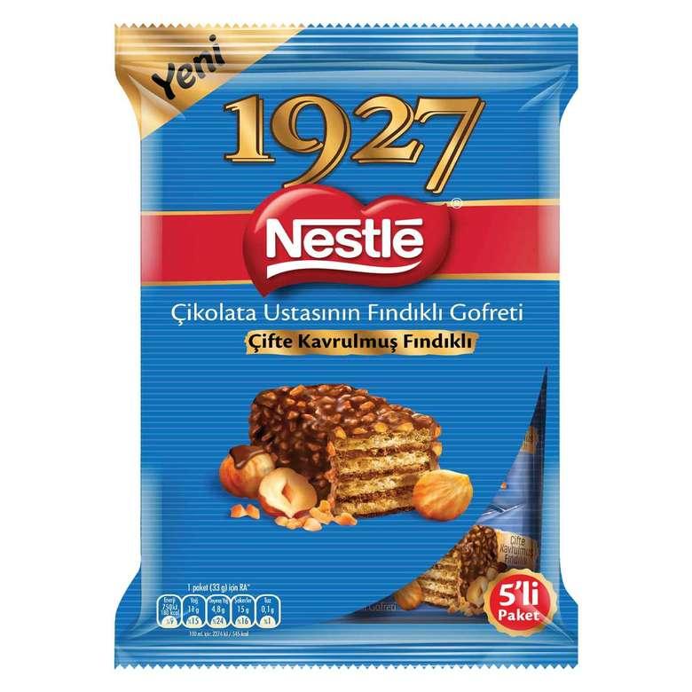 Nestle 1927 Gofret Çif. Kav.fndkl 5x33 G