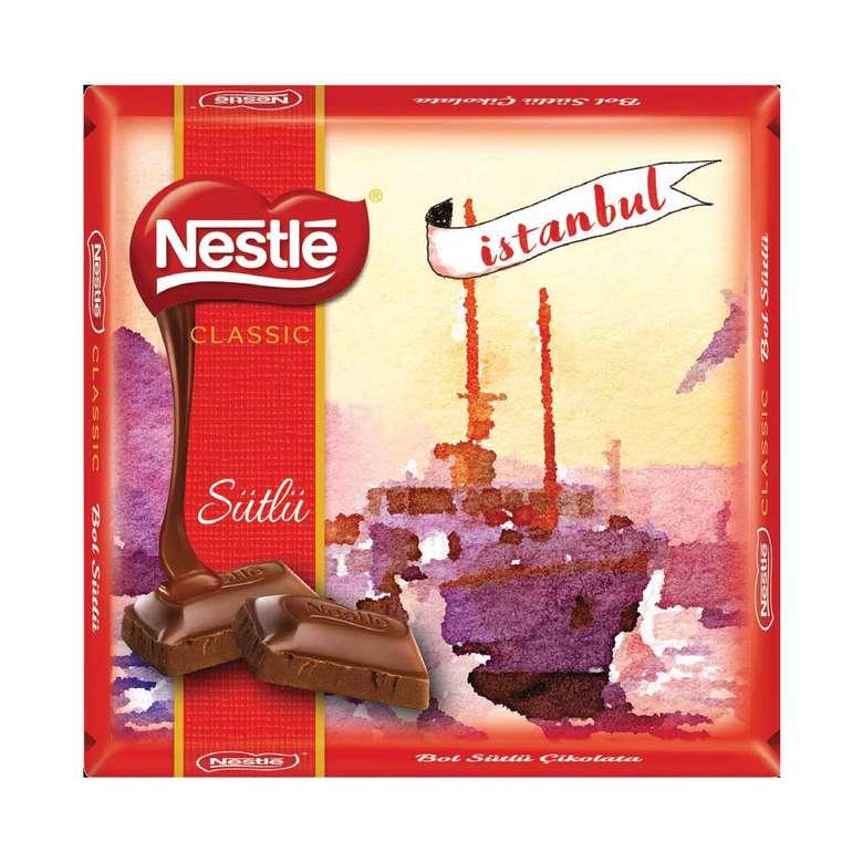 Nestle 1927 Çikolata Sutlu Fındıklı 60 G