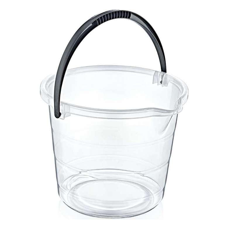 Turan Plastik Şeffaf Su Kovası 13 Lt