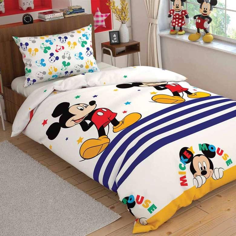 Lisanslı Mickey Mouse Nevresim Set