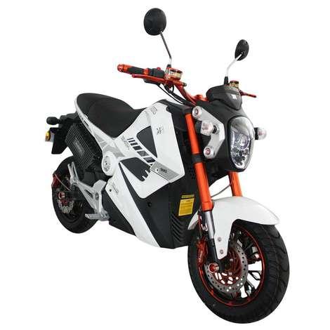 KR-25-L Ava 5000 Elektrikli Bisiklet - Beyaz