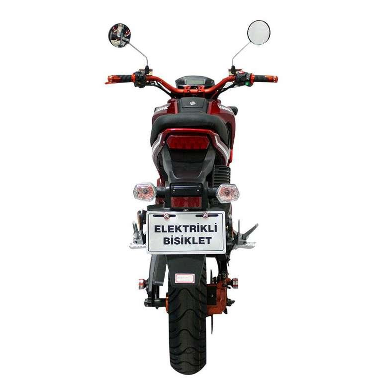 KR-25-L Ava 5000 Elektrikli Bisiklet - Kırmızı