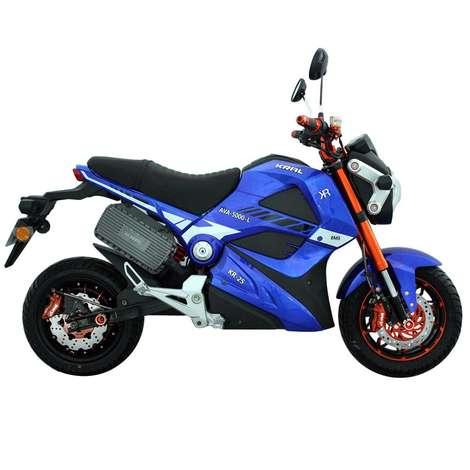 KR-25-L Ava 5000 Elektrikli Bisiklet - Mavi