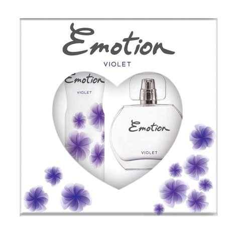 Emotion Violet Parfüm 50ml & Deodorant
